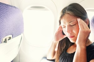 Handling a woman with trouble caused due to airline
